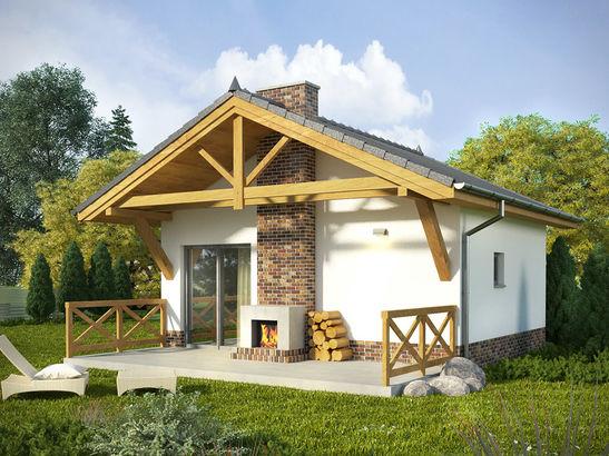 Projekt domu Domek 11 - widok 1