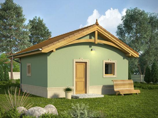 Projekt domu Domek 12 - widok 2