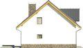 Projekt domu Tetris 2 - elewacja boczna 2
