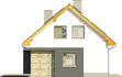 Projekt domu Iskra 3 - elewacja boczna 1
