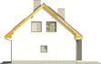 Projekt domu Iskra 3 - elewacja boczna 2