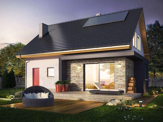 Projekt domu Iskra 3 - widok 3