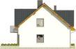 Projekt domu Riva 2 - elewacja boczna 1