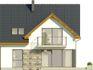 Projekt domu Riva 2 - elewacja tylna