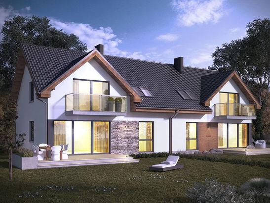 Projekt domu Riva 2 - widok 1