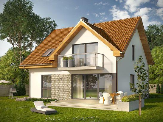 Projekt domu Riwiera - widok 1