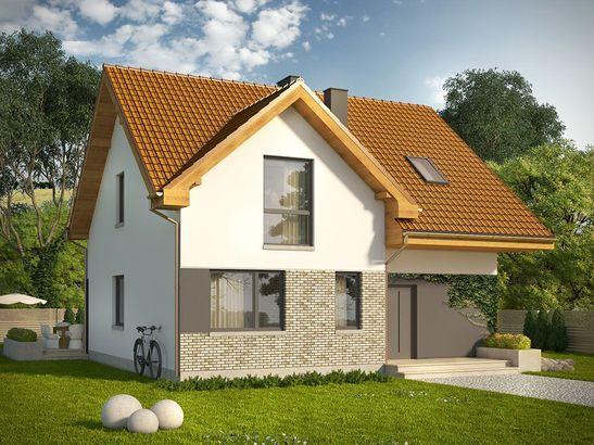 Projekt domu Riwiera - widok 2