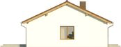 Projekt domu Nino - elewacja boczna 1