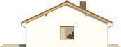 Projekt domu Nino 2 - elewacja boczna 1