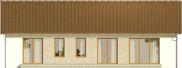 Projekt domu Nino 2 - elewacja tylna