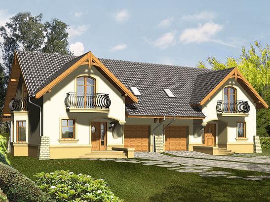 Projekt domu Bella 2 - widok 2
