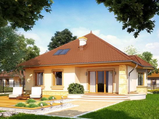 Projekt domu Impresja - widok 1