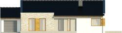 Projekt domu Velvet - elewacja przednia