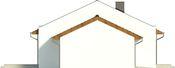 Projekt domu Velvet - elewacja boczna 2