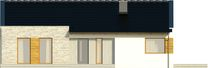 Projekt domu Velvet 2 - elewacja przednia