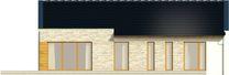 Projekt domu Velvet 2 - elewacja tylna