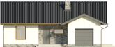 Projekt domu Andrea - elewacja przednia