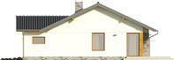Projekt domu Andrea - elewacja boczna 2