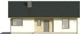Projekt domu Karmelek - elewacja przednia