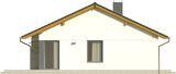 Projekt domu Karmelek - elewacja boczna 1