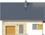 Projekt domu Majówka - elewacja przednia
