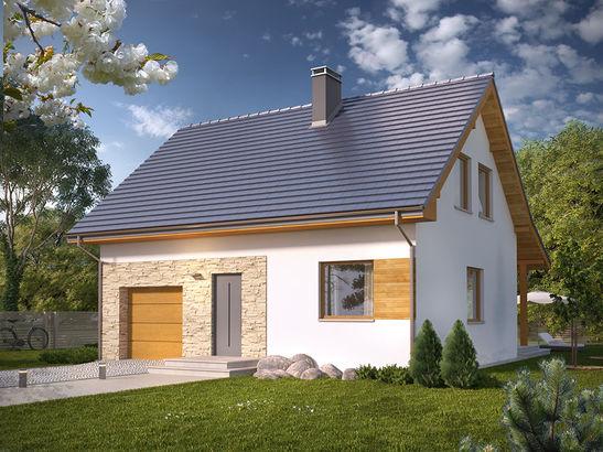 Projekt domu Majówka - widok 2