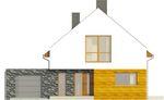 Projekt domu Avanti - elewacja przednia