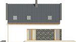 Projekt domu Avanti - elewacja boczna 1