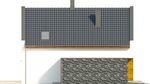 Projekt domu Avanti - elewacja boczna 2