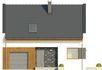 Projekt domu Como - elewacja przednia