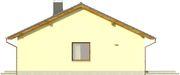 Projekt domu Cytrynka - elewacja boczna 1