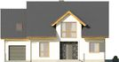 Projekt domu Miętus - elewacja przednia