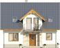 Projekt domu Kolia 3 - elewacja przednia