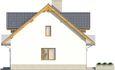 Projekt domu Kolia 3 - elewacja boczna 1