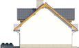 Projekt domu Kolia 3 - elewacja boczna 2