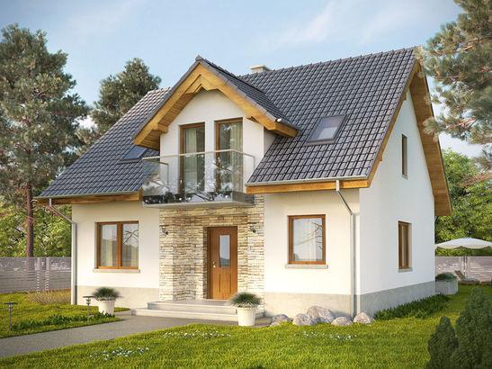Projekt domu Kolia 3 - widok 1