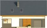 Projekt domu Bonus - elewacja przednia