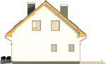 Projekt domu Bonus - elewacja boczna 2