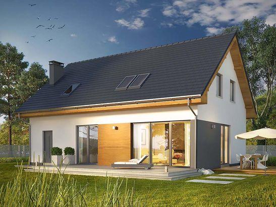Projekt domu Bonus - widok 1