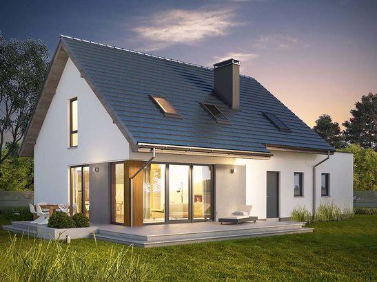 Projekt domu Fikus - widok 2