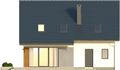 Projekt domu Fikus 2 - elewacja tylna