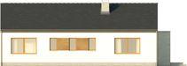 Projekt domu Trendsetter - elewacja tylna