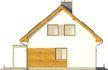 Projekt domu Toffi - elewacja boczna 1