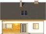 Projekt domu Toffi 2 - elewacja przednia
