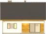 Projekt domu Toffi 2 - elewacja tylna