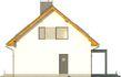 Projekt domu Toffi 2 - elewacja boczna 2