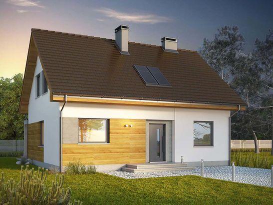 Projekt domu Toffi 2 - widok 1