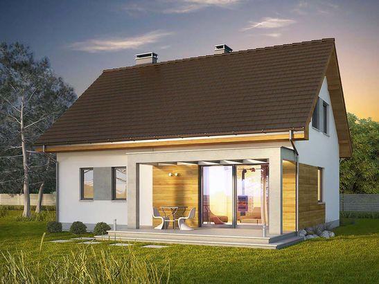 Projekt domu Toffi 2 - widok 2