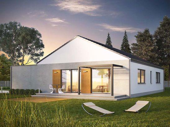 Projekt domu Inter - widok 1