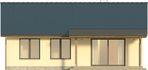 Projekt domu Smakołyk - elewacja tylna